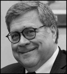 bill barr head