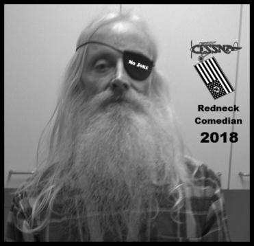 robby redneck comedian nazi flag cessna 600