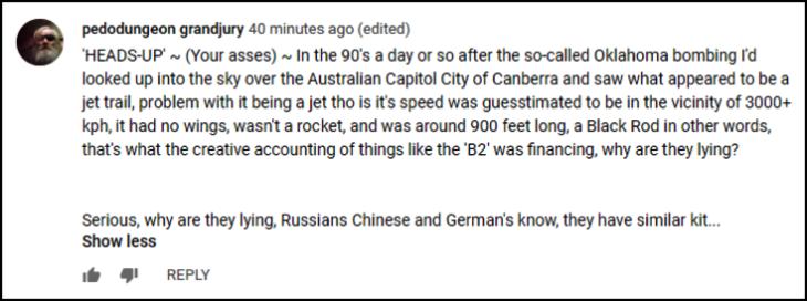 Black Rod B2 Bomber comment EDITED