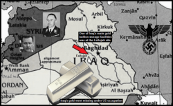 Iraq gold Assad lower color Red Arrow gold storage facilities Fallujah 600