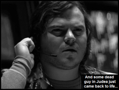 Jack Black Snapshot dead guy in Judea MEH 490