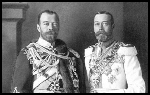 King Battenberg Windsor Kaiser or Czar