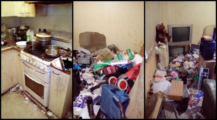 Messy flat