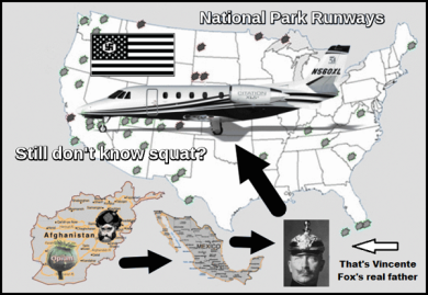Afghan opium Mexican heroin Kaiser Fox Nazi don't know squat 600