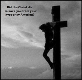 Christ cross hypocrisy 730