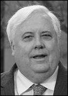 Clive Palmer BW