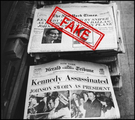 Kennedy assassination news fake