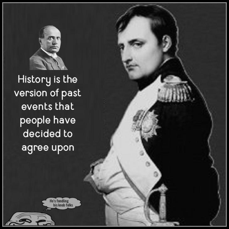Napoleon short dead dude HISTORY