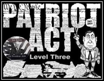 Patriot Act Level Three Biden 600