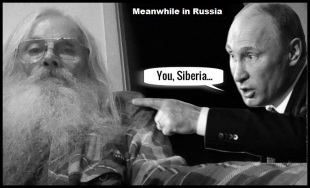 Robby and Vladimir ~ Meanwhile in Russia (2)