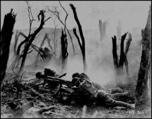 WW1 chaos on the battlefield 560 darker