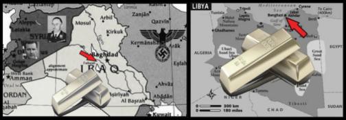 Iraq Libya gold