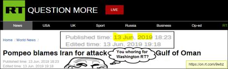 RT Psy Op Iran thing