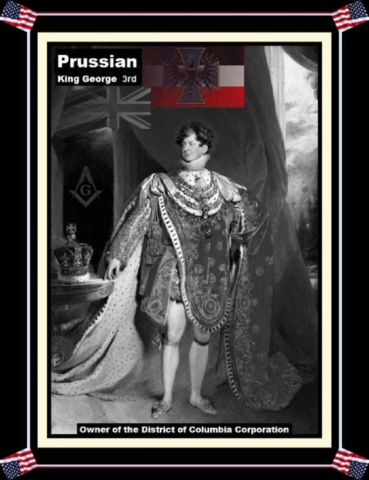 a-masonic-prussian-king-george-district-of-columbia-AMERICAN FLAG Border