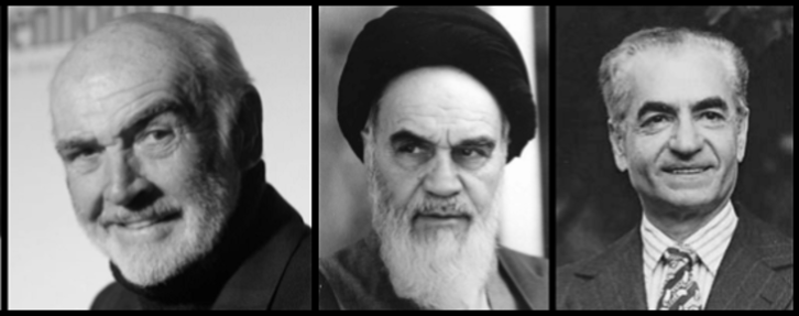 Connery Ayatollah Shah LARGE