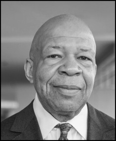 Elijah Cummings Head CROP BW Border 490