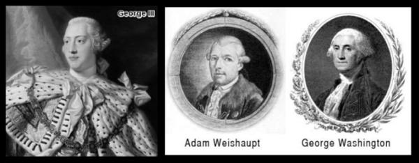 King George Weishapt Washington 600