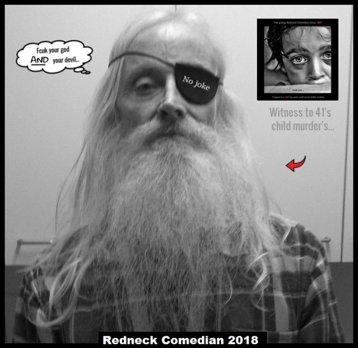 Redneck Comedian FCUK YOUR GOD _ Red Arrows NO JOKE (3)