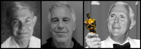Tillerson Epstein Pence gold Emmy Award 600