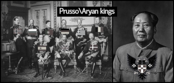 Kings + King Mao PRUSSO-ARYAN KINGS