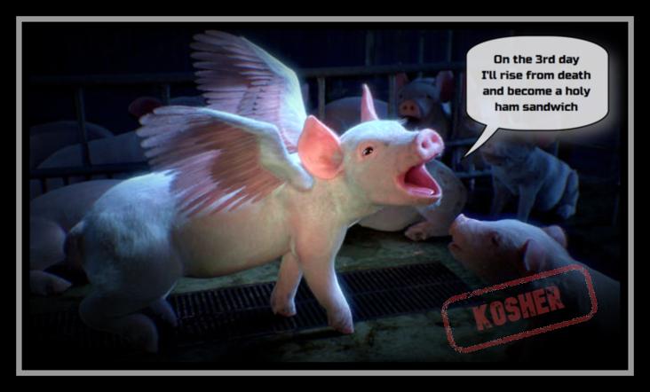 A kosher ham sandwichanyone?