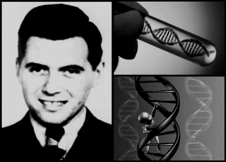Mengele DNA Child slightly redish tint old photo BW
