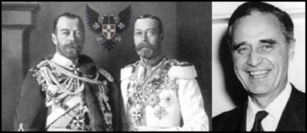 Prescott Czar King George Prussian Eagle LARGE BW 600