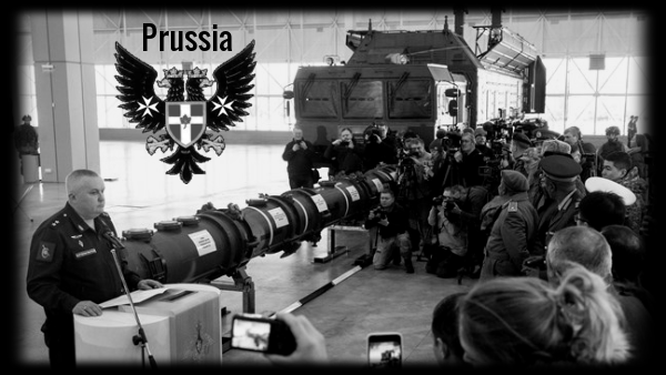 Prussian Eagle Russia little fat Schwammberger guy missile 600 BW