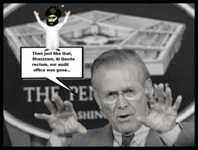 Rumsfeld Al Qaeda rectum, our audit office was ISLAMIC 600