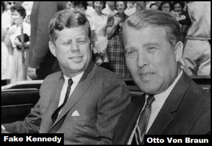 Fake Kennedy Otto Von Braun 730