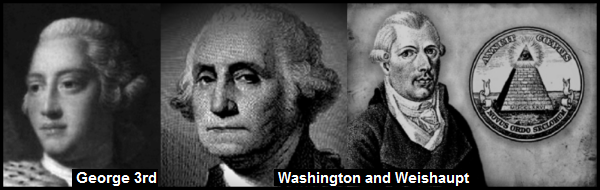 A King George Washington Weishaupt WRITTEN 600