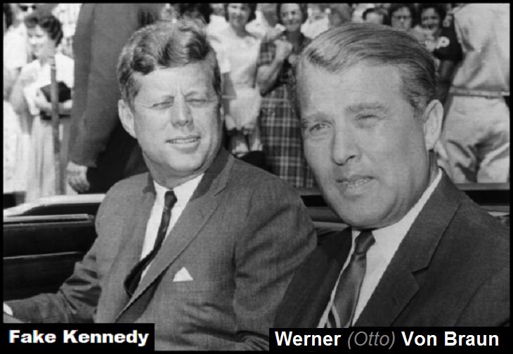 Fake Kennedy Werner (Otto) Von Braun 730