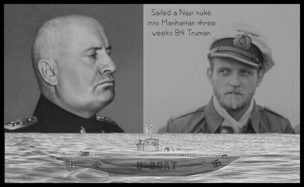 Mussolini Topp Nazi U-Boat BW