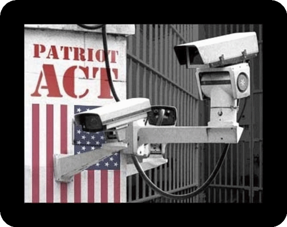PATRIOT ACT Camera more color round border 560