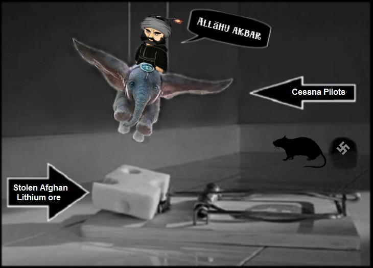AAA mission-impossible DUMBO-rat-Afghan lithium Cessna Pilots