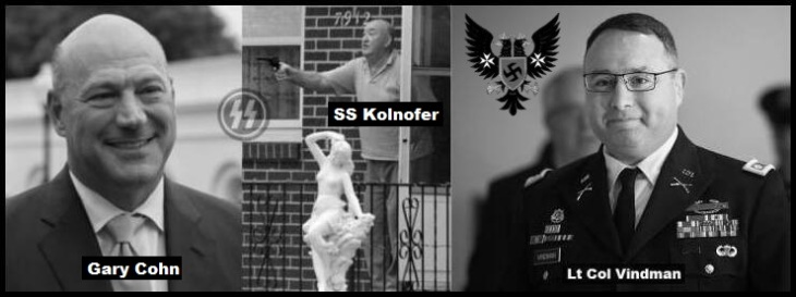 Cohn Koln and Kolnofer Michael SS Vindman + Prussian Eagle Swastika