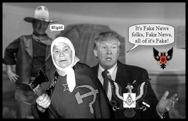 FAKE NEWS trump-prussian-eagle-john-wayne-blyat-no-collusion Masonic Eagle 600