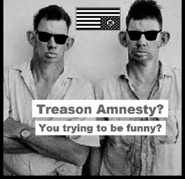 Treason Amnesty inbreds sunglasses 730 CROPPED TOP