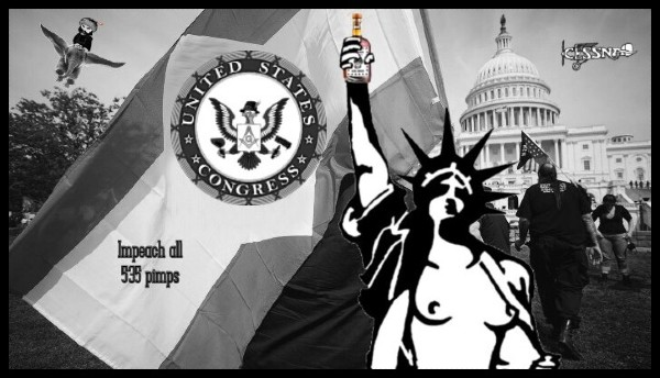 American Nazi flag congress LADY LIBERTY 600