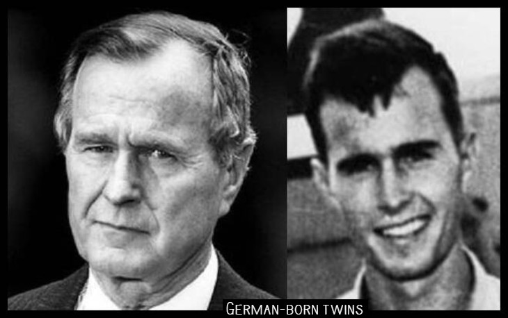 Bush German twins 730 border