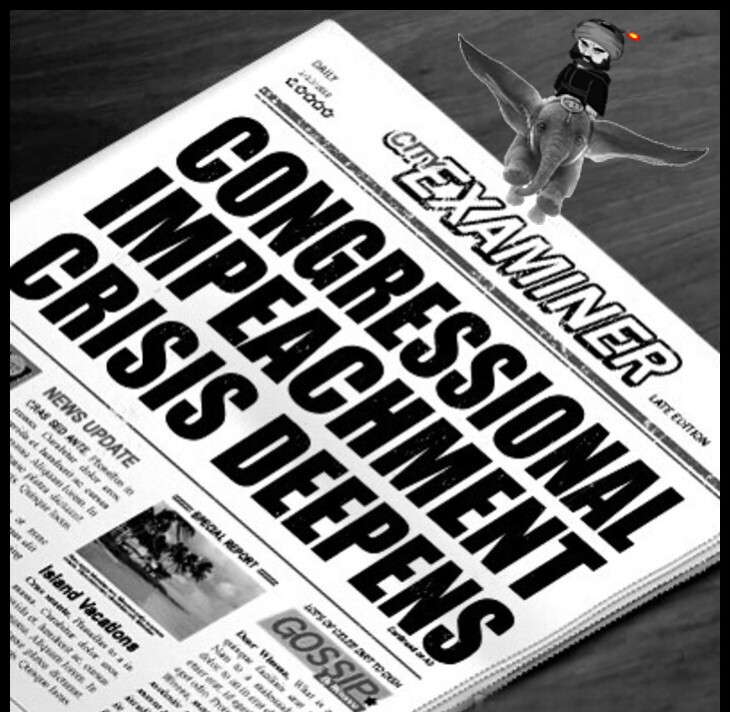 CONGRESSIONAL IMPEACHMENT CRISIS BW Dumbo cropped bottom