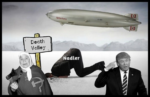 head-in-the-sand-hindenburg-russian-lady-fake-trump 600 NADLER