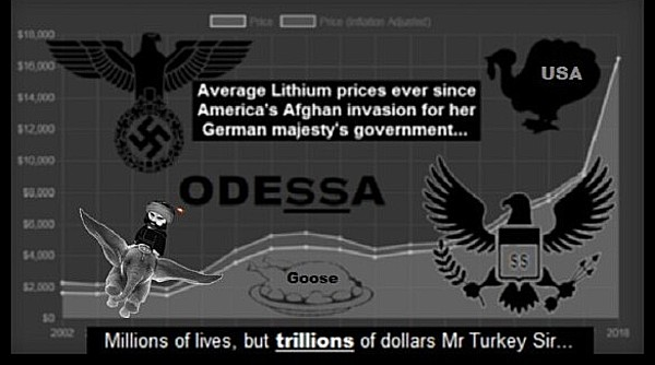 odessa-USA Turkey afghan-lithium-DUMBO goose CROP