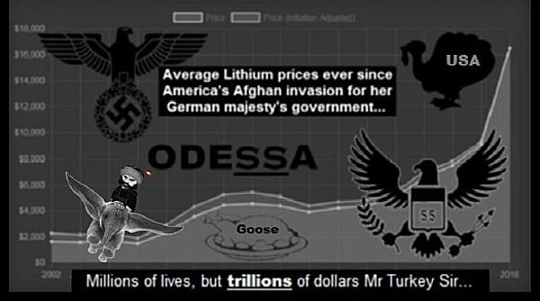 odessa-USA Turkey afghan-lithium-DUMBO goose CROP