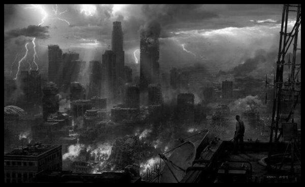 Post Apocalyptic 600 BW