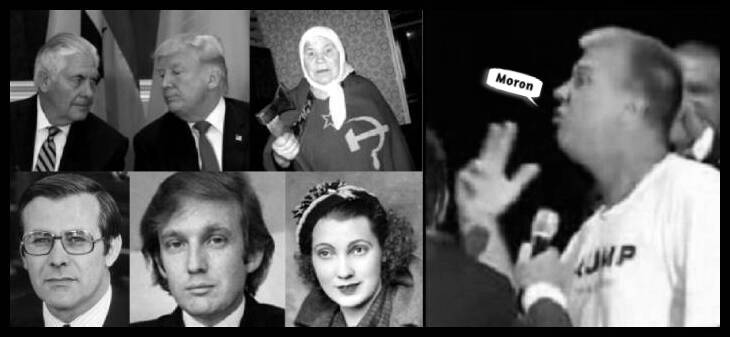 The Dave Trump circus MORON