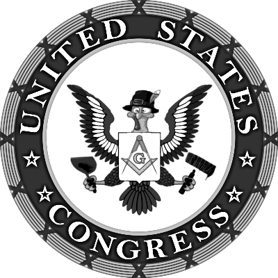 US Congress Masonic turkey logo maybe trans
