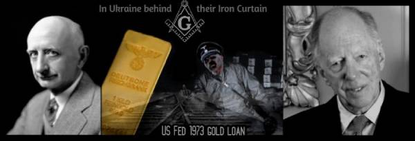 A01 600 Nazi gold Eugene Black x Rothschild BEHIND THE IRON CURTAIN 600