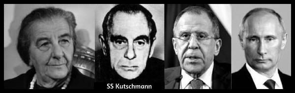 Golda Meir SS Kutschmann Lavrov Putin 600