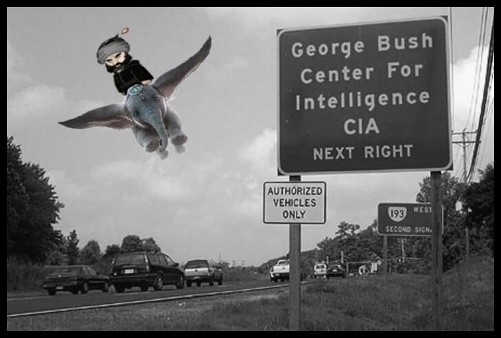 oxymoron_bush_CIA Dumbo BORDER